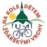 Na kole dětem Žďárskými vrchy 2019